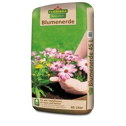 Erde für Balkonblumen