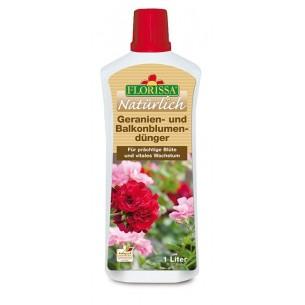 Spezialdünger für Geranien und Balkonblumen