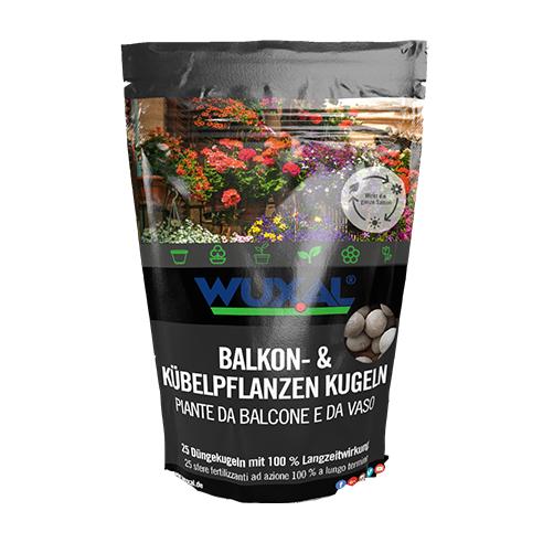 Düngekugel für Balkon und Kübelpflanzen
