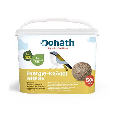 Donath Energie-Knödel Insekten ohne Netz